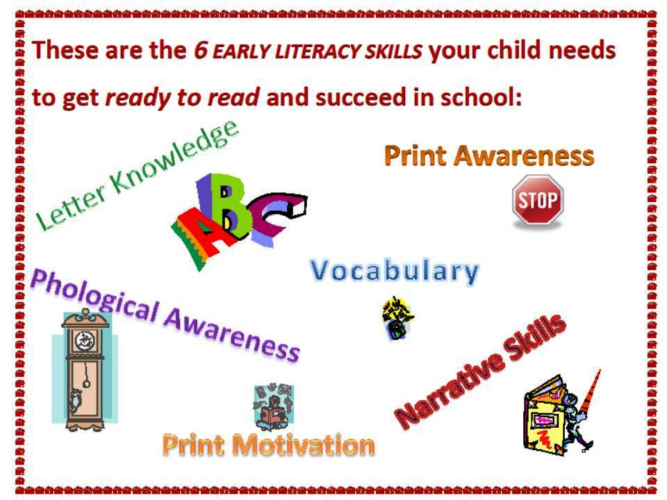 6 early literacy skills your child needs before school entry & 5 ...