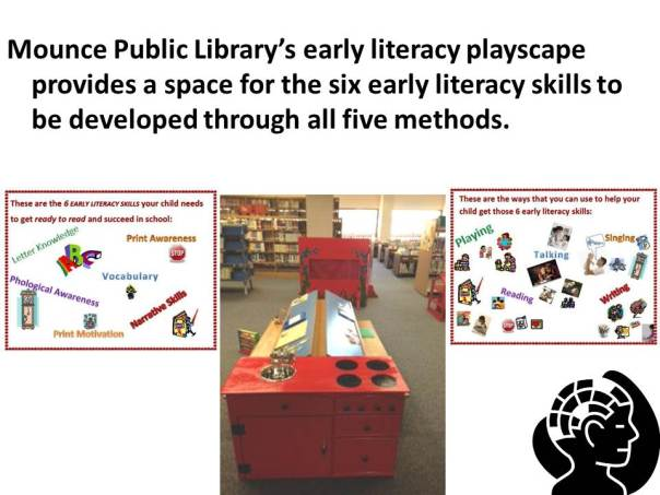 Early Literacy Playscape at Mounce Public Library 2